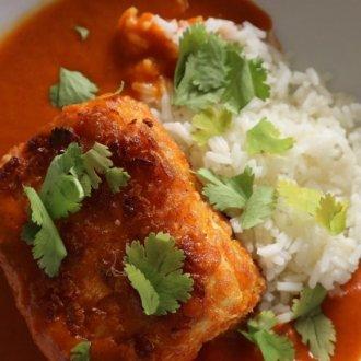 Gluten free and vegan katsu curry